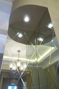 Декоративная ниша в кухне-гостиной