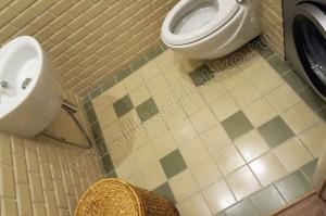 Напольная плитка в туалете