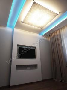 Ниша под ТВ в спальне